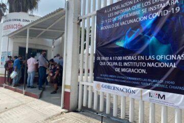 Solicitan extender plazo de vacunación a migrantes en INM Tuxtla Gutiérrez
