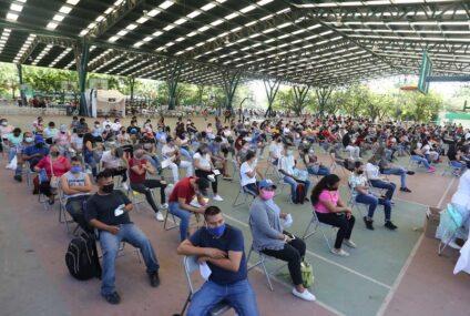 """""""Una Semana de Primera"""": inicia vacunación exclusiva de 1ª dosis"""