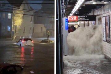 Declaran estado de emergencia en Nueva York, Louisiana y Mississipi por históricas inundaciones tras huracán Ida
