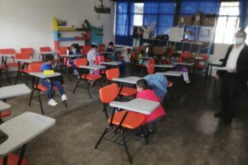 Al momento 491 escuelas de nivel básico iniciaron clases presenciales en Chiapas