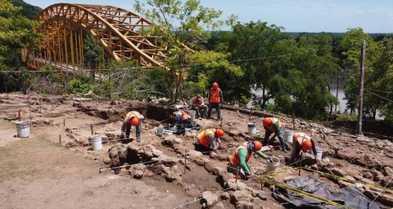 Más de 2 mil vestigios se han descubierto durante la construcción del Tren Maya