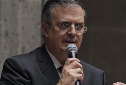 México dirá a EU «si tú no me respetas, yo no te respeto»: Marcelo Ebrard
